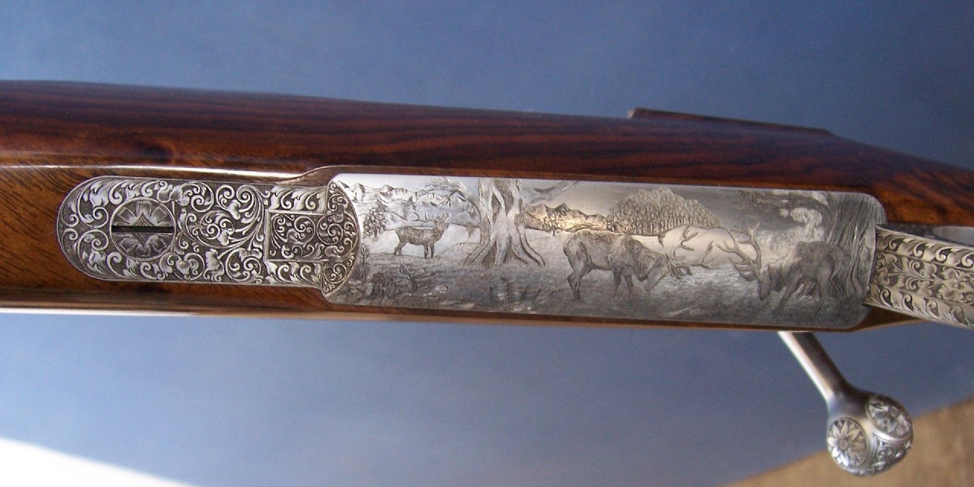 Roger Vardy Rifles & Stockwood